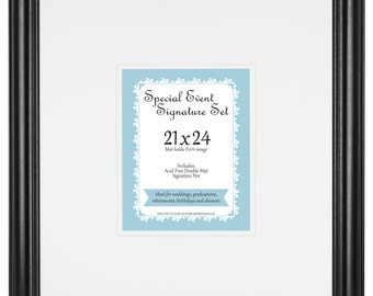 Special Event Signature Mat set for 11x14 photo