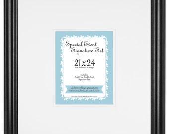 Special Event Signature Mat set for 11x14 photo