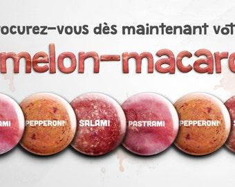 Nipples-Pins / Mamelons-macarons