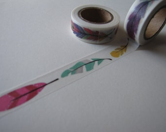 Feather Washi Tape