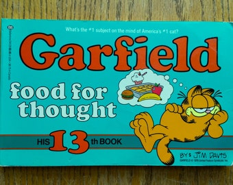1987 First Edition Garfield Food for Thought Book