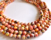 The Michelle- Multi Color Jade Chunky Necklace