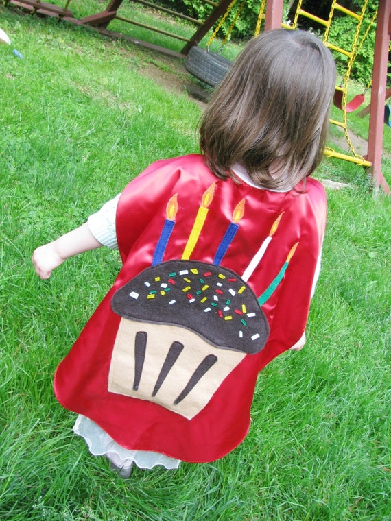 Birthday Superhero Cape Kids Childrens Custom Cape Great for Teacher Classrooms Birthday Idea