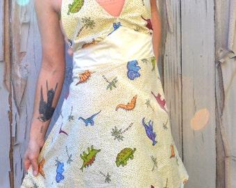 Dinosaur sweetheart full front apron
