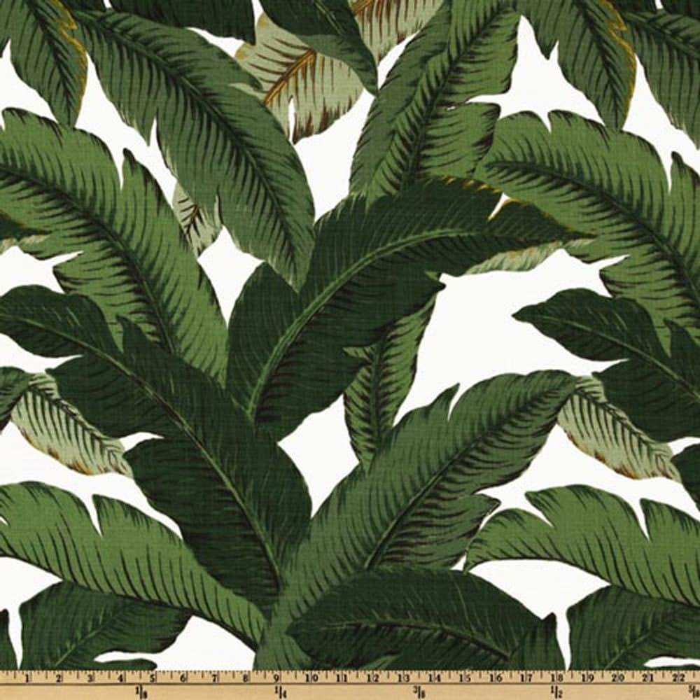 Discount outdoor fabric by the yard - Tommy Bahama Swaying Palms Aloe Home Decorating Fabric By The Yard
