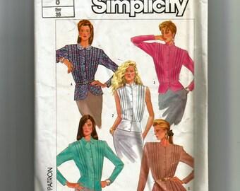 Simplicity  Misses' Peplum Blouses Pattern 7764