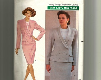 Butterick Misses' Jacket, Top and Skirt Pattern 4402