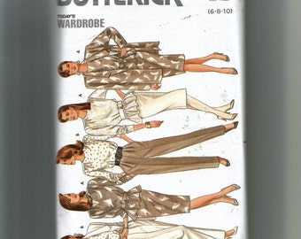 Butterick Misses'  Jacket, Top, Skirt and Pants Pattern 5728