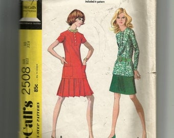McCall's Misses' Two-Piece Dress Pattern 2508