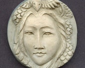 Reserved for Karen  5 Faux Marble Art Nouveau Goddess Cabs  NFM 2