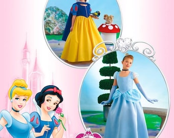 Simplicity Pattern 2817 Snow White & Cinderella Costume Gowns Childs Size 3-6