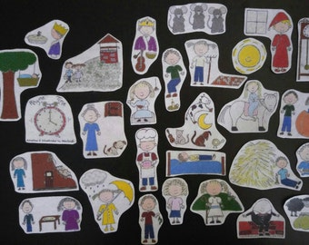 Nursery Rhymes Flannel Board Stories Felt Set