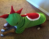 Yoshi from Super Mario Brothers Pet costume XS to XL