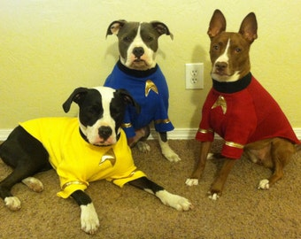 Star Trek Dog Costumes XS to XL