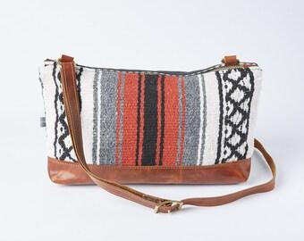 Emma Crossbody Bag in Falsa Mexican Blanket Pattern