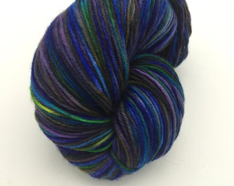 Sock Yarn, Aquarius, 75-25 SW Merino & Nylon