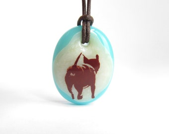 Doggy Necklace - Dog Jewelry - Pet Lover