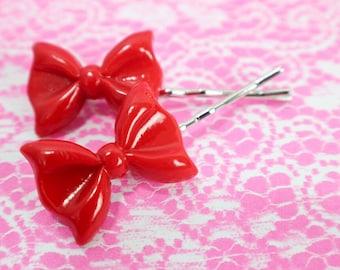 Hair Pins - Bows