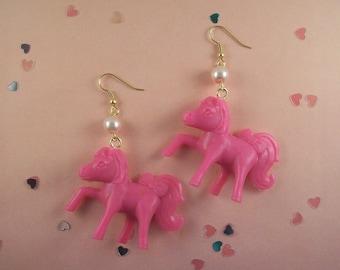 Pony Earrings