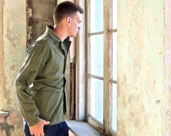 Scarce WWII Military Issue USN Utility Jacket Size 38