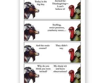 Thanksgiving Dinner - Card