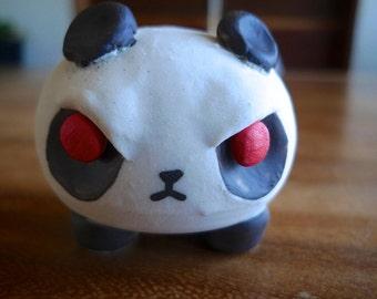 Marshmallow Leg Angry Panda