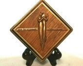 Bronze 8th Wedding Anniversary Gift Family Portrait Plaque - Personalized with  Your Family