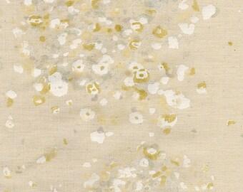 Nani Iro Japanese Fabric Kokka Fuwari fuwari AW - E metallic - 50cm
