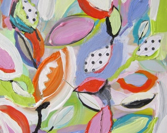 Original painting by Michelle Daisley Moffitt........Spirited Leaves