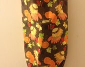 Thanksgiving Turkey Harvest Shopping Bag Plastic Bag Grocery Bag Holder