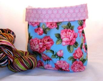 Floribunda project bag by AnniePurl