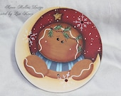 Over the Moon Ginger Ornament Renee Mullins design
