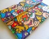 Nintendo - Ipad Air - Samsung Galaxy - Amazon Kindle Fire  - Kindle - Case - Sleeve - Ipad Mini - Galaxy Tab - Ipad Air Retina - Mario Bros