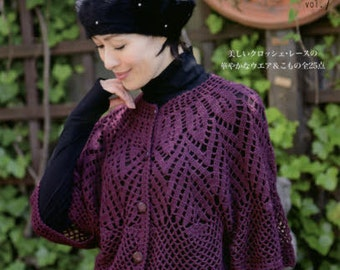 Fall and Winter Crochet Clothes VOL 7 - Japanese Craft Book