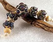 Lampwork Art Beads by Jeanniesbeads 1013
