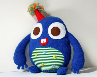Happy Birthday Plushie / Eco Friendly Stuffed Toy Plush