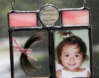 baby s haircut keepsake lock of hair etsy 1019