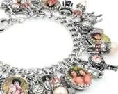 Geisha Jewelry, Japanese Bracelet, Geisha Women, Japanese Jewelry, Pearl Bracelet, Fresh Water Pearls, Rose Pearls