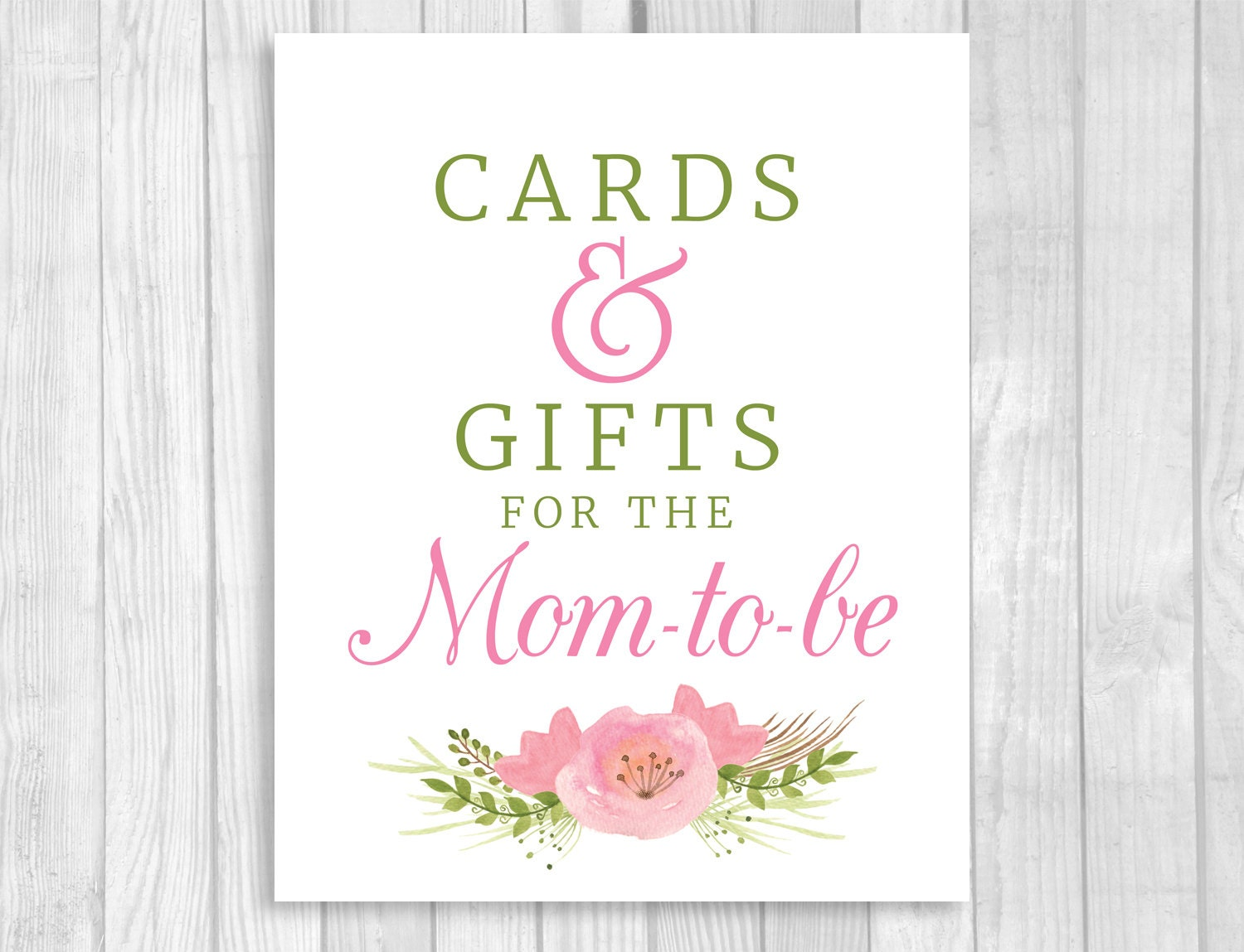 Baby Shower Gifts For Mommy To Be ~ Printable cards and gifts for the mom to be baby shower