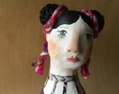 Petra.  Original Clay Art Doll