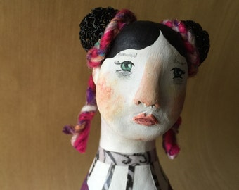 Petra.  Original Clay Art Doll