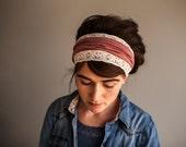 Garlands of Grace Nutmeg Vintage Stretch Headband wrap headcovering