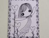 Love Can Grow ACEO original