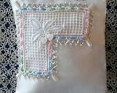 Embellished Ring Bearer Pillow