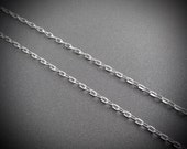 Sterling Silver Tiny Loopy Chain Assorted Lengths