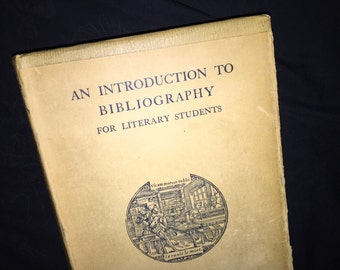1948 Introduction to Bibliography
