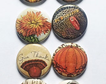 Vintage Thanksgiving Flair