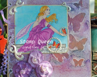 Butterfly Dreams - altered journal
