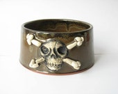 Skull Dog Bowl 4 Cup