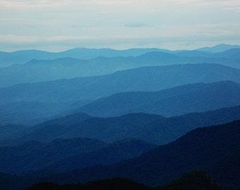 Blue Ridge Mountains -  Landscape  -  Photography - Home Decor